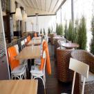 Летняя терраса ресторана